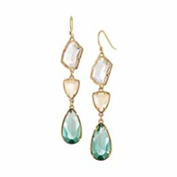 ♥Valentine's Day Gifts♥ Classic Teardrop Pierced Earrings Made with Cubic Zirconia for Women Girls