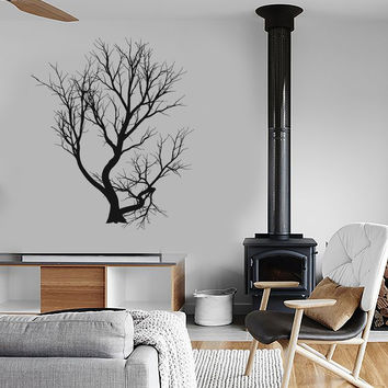 Vinyl Decal Tree Branches Forest Decor Living Room Wall Sticker (ig2790)