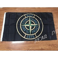 Free shipping 3ft x 5ft Stone Island 5815 Polyester Size No.4 150* 90cm flag