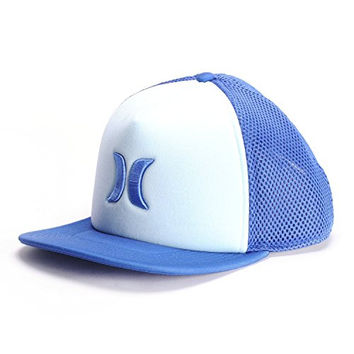 Hurley Blocked 2.0 Trucker Hat Court Blue, One Size