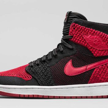 "Air Jordan Retro 1 I Flyknit ""Banned"""