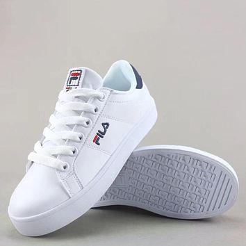 Trendsetter Fila Court Deluxe Fashion Casual  Low-Top Old Skool Shoes