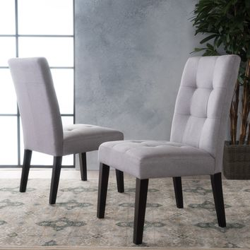 Chaplin Tufted Dining Chair (Set of 2)