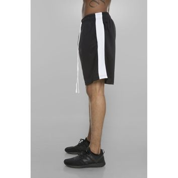 MY MALL METRO  Bolt Track Shorts (Black/White)  Check Homepage for Promo Codes! <