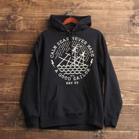 Calm Seas Hoodie in Black