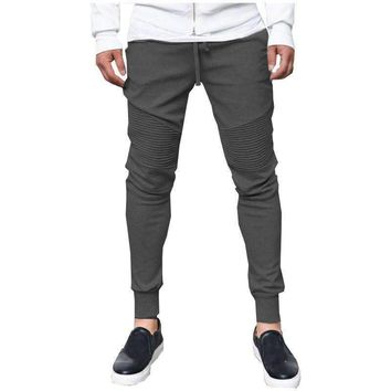 Mens Jogger Pants Outdoors Men Hip Hop Harem Pants Sweat Pant Men Trousers Slim Workout Bodybuilding Clothing Pants