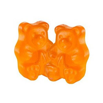 Gummi Bears Orange Bulk 1/2 lb