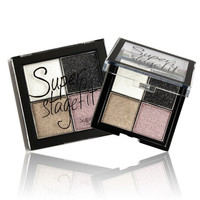 Color Eye shadow Pigments Palette Eye Makup Eye Shadow Super Stage Fit By Sugar box MK1016