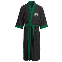 Boston Celtics Fleece Bath Robe - Adult, Size: