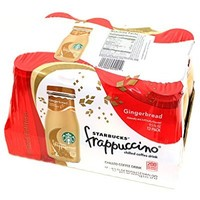 Starbucks Gingerbread Frappuccino Chilled Coffe Drink (Case of 12 Bottle) Limited Edition