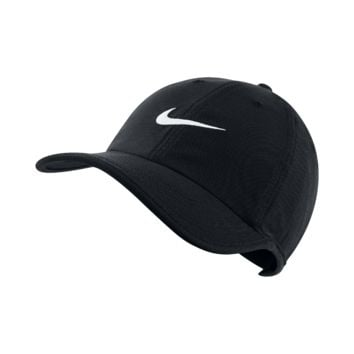 Nike Heritage Twill Adjustable Hat (Black)