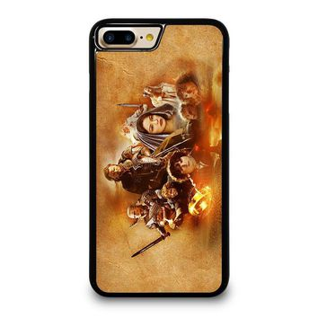 HOBBIT LORD OF THE RING iPhone 4/4S 5/5S/SE 5C 6/6S 7 8 Plus X Case