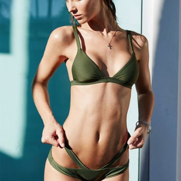 LA Hearts LUXE Seamless Harness Skimpy Bikini Bottom at PacSun.com