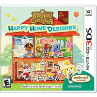Animal Crossing: Happy Home Designer 3DS Video Game