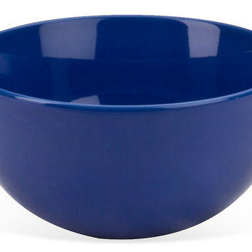 Round Serving Bowls,  Cobalt Blue, Set of 4, Dinner Serving Utensils