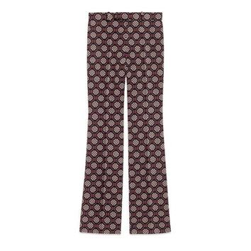 Gucci GG diamond wool pants