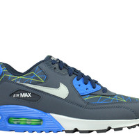 Nike Men's Air Max 90 PRM Dark Obsidian