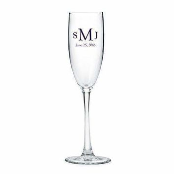 Classic Champagne Glass - Personalized (Pack of 1)