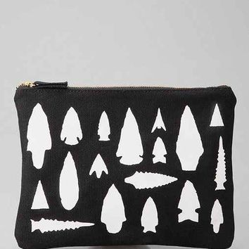 Izola Arrow Zipper Pouch