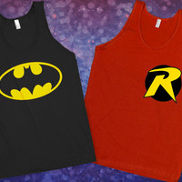 Batman & Robin Besties Tanks | Lookhuman.com