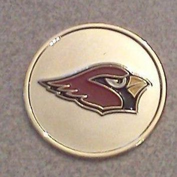 Arizona Cardinals Divot Tool and Hat Clip with Magnetic Ball Markers
