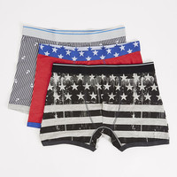 Americana 3 Pack Boxer Briefs
