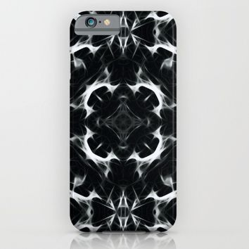 Abstract BLACK iPhone & iPod Case by LEMAT WORKS
