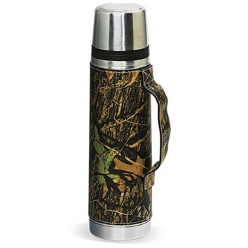 CAMO LEATHER Vacuum Bottle
