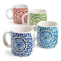 Signature Housewares 'Mandala' Mugs (Set of 4)
