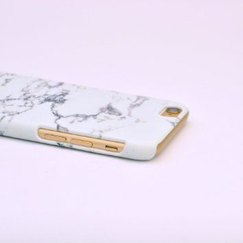 Iphone 6 Case, Marble Print 3d-sublimated, Mobile Accessories Marble 01.