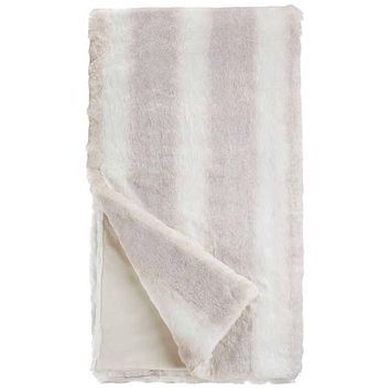 Iced Mink Couture Faux Fur Throw Blanket by Fabulous Furs