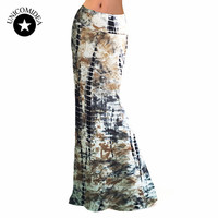 2017 Spring/Summer New Skirt Women Package Hip Skirts Sexy Striped Maxi Nightclub Party skirts Slim Long Skirts Plus Size