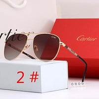 Cartier Fashion New Polarized Women Men Sunscreen Glasses Eyeglasses