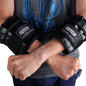 Brand sport Adjustable Hand legging Wrist Weights Sandbag training equipment 1-3kg Weight For Hands MMA gym Boxing for fitness