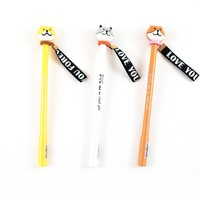 Corgi Pen with Ribbon - Set of 3