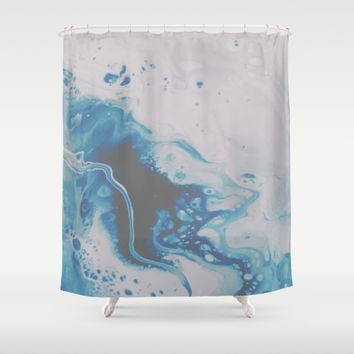 Atmospheric Shower Curtain by DuckyB