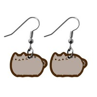 Handmade Gifts | Independent Design | Vintage Goods Chubby Kitty Earrings - I love kawaii