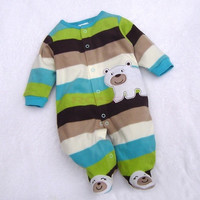 Baby Clothing Brand New Toddler Romper Warm Hoodie Soft Cartoon Bodysuit Outfit Jumpsuit For Baby SV005578|28001 Children's Clothing = 1930294596