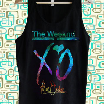 XO The Weeknd Tank top Tumblr tee Hipster tops