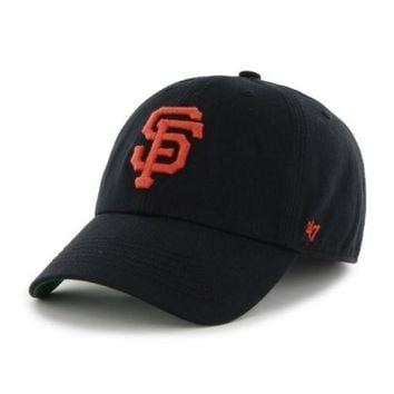 DCCKG8Q MLB San Francisco Giants 47 Brand Franchise Black Unstructured Hat