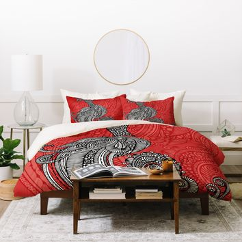 Valentina Ramos The Bird Duvet Cover