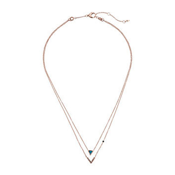 Fossil Double-Strand Convertible Necklace