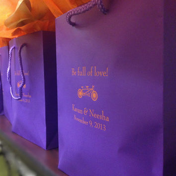 50 Personalized Wedding Welcome Bags for Hotel Guests
