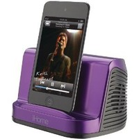 iHome iHM16B Portable Stereo Speaker System for iPad, iPod and MP3 Player, 3.5 mm line-in  (Black)