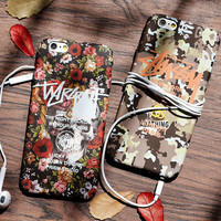 Vintage Flower Printed Case for iPhone