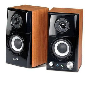 Sp Hf500a 14w Wood Speakers