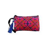 Embroidery Clutch Handbag 2