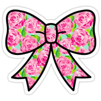 Lilly Pulitzer Inspired Bow First Impression by mlr28blu