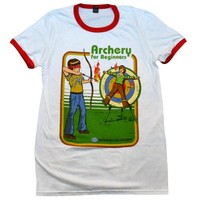 Archery for Beginners Ringer Shirt