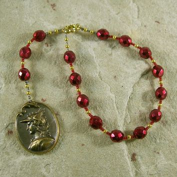 Mercury Pocket Prayer Beads: Roman God of Commerce, Travel, Prosperity